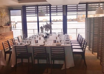 semiprivate dining restaurant
